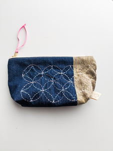 Small Zippered Bag - Osage