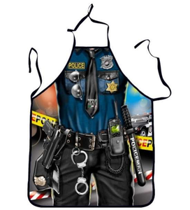 Police Cooking Apron - Great Gift Idea! - BackYourHero
