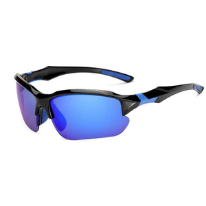 Thin Blue Line Sport Sunglasses - Ultra UV Protection - BackYourHero