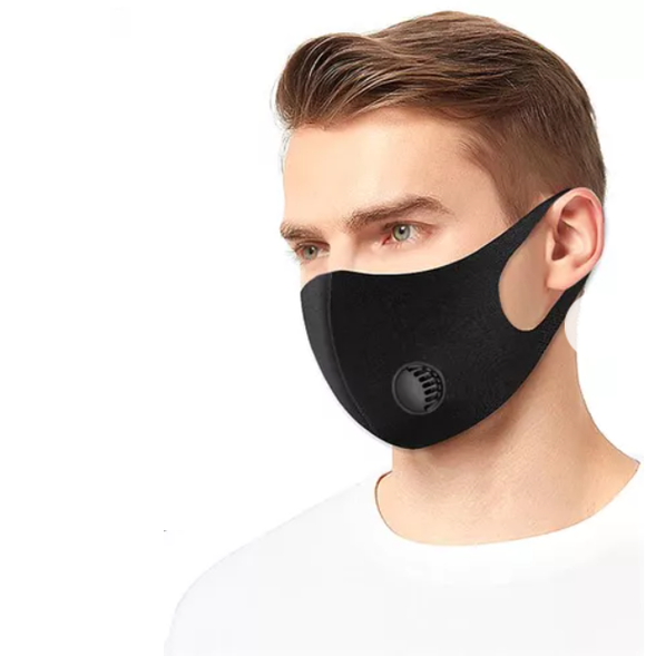 Sleek and Trendy Face Cover - Breathable & Comfortable - No Ear Tugging!