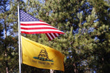 Don't Tread On Me Flag With Grommets 3 X 5 Feet - BackYourHero