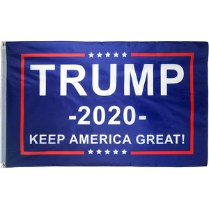 Trump Keep America Great 2020 - 3 X 5 Feet Flag with Grommets - BackYourHero