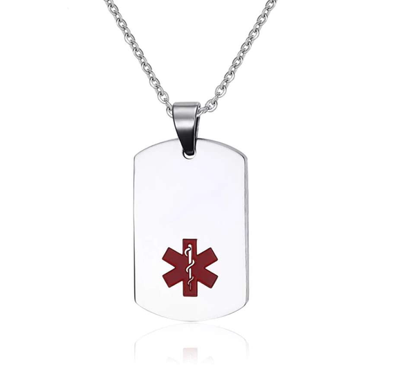 Star of Life EMS/EMT Necklace - Silver or Gold! - BackYourHero