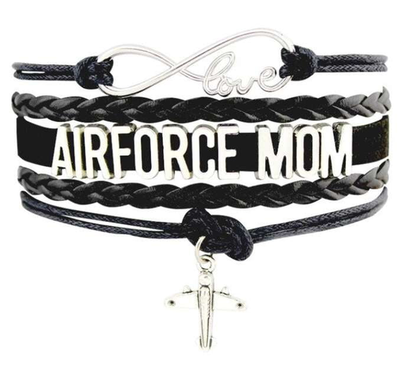 Air Force Charm Bracelet - For Moms & Wives - BackYourHero