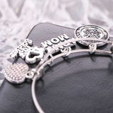 Beautiful Army Mom Charm Bracelet - BackYourHero