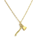 Stunning Firefighter's Axe Necklace - BackYourHero