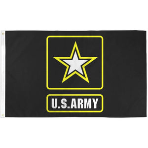 U.S Army Flag With Grommets 3 X 5 Feet - BackYourHero