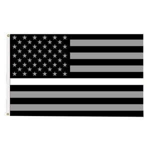 EMT/EMS Thin White Line Flag - 3X5 Feet with Grommets! - BackYourHero