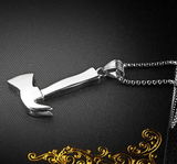 Firefighter's Axe Necklace - Gold, Silver & Black! - BackYourHero