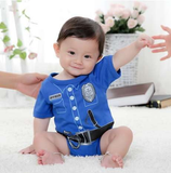 Baby Onesie - Cute Cop Outfit! - BackYourHero