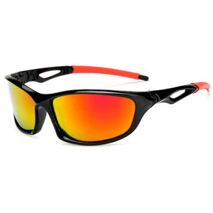Thin Red Line Firefighter Sunglasses - Ultra UV Protection - BackYourHero