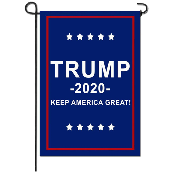 Keep America great 2020 Trump Garden Flag 12.5 X 18 Inches - BackYourHero