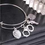 Gorgeous Police Charms Bracelet - BackYourHero