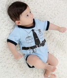 Baby Onesie - Adorable Police Officer! - BackYourHero