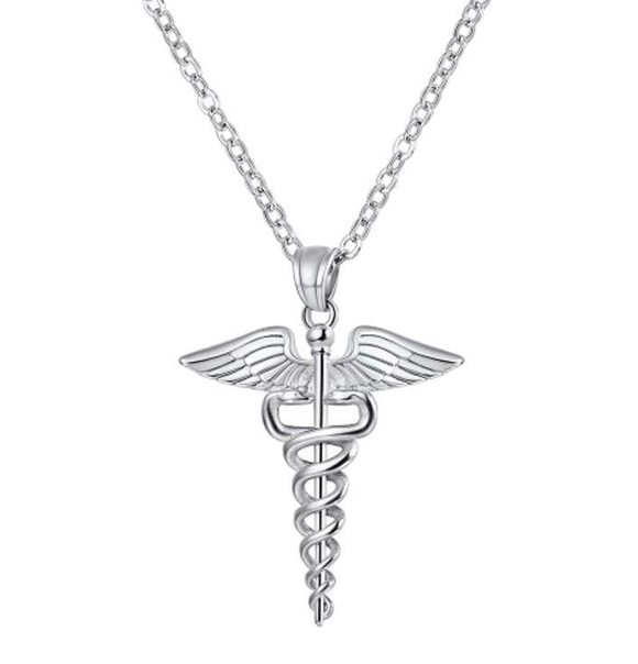 Virtuous Nurse Necklace - Silver or Bronze! - BackYourHero