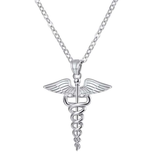 Stunning EMS/EMT Necklace - Silver or Bronze! - BackYourHero
