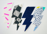 Assorted Lightening Bolts (4 pack)