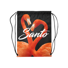 Flamingo Drawstring Bag
