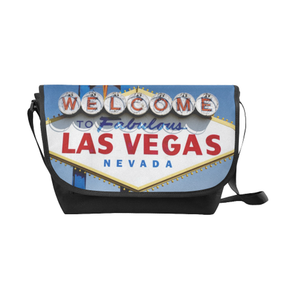 Las Vegas Sign Saddle Purse