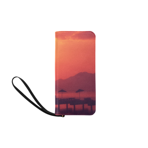 Sunset Vacation Clutch Purse