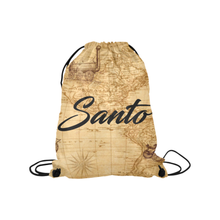 Old Map Drawstring Bag