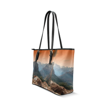 Zion Park Leather Tote Bag