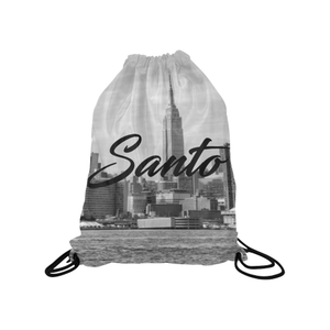 NYC Skyline Drawstring Bag