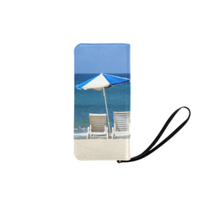 Beach Chair Clutch Purse