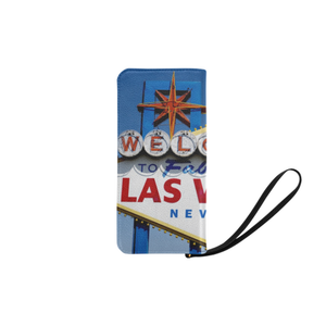 Las Vegas Sign Clutch Purse