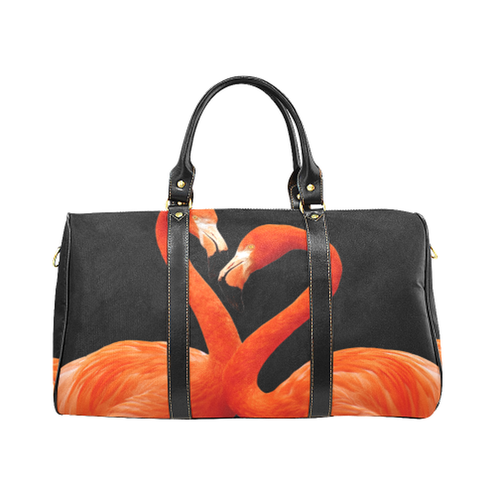 Flamingo Large Waterproof Travel Bag