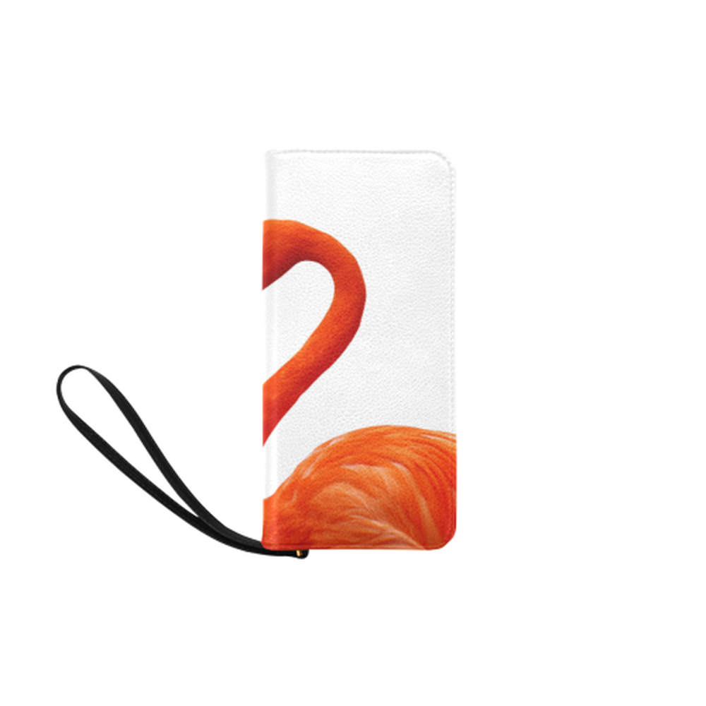 Flamingo Clutch Purse