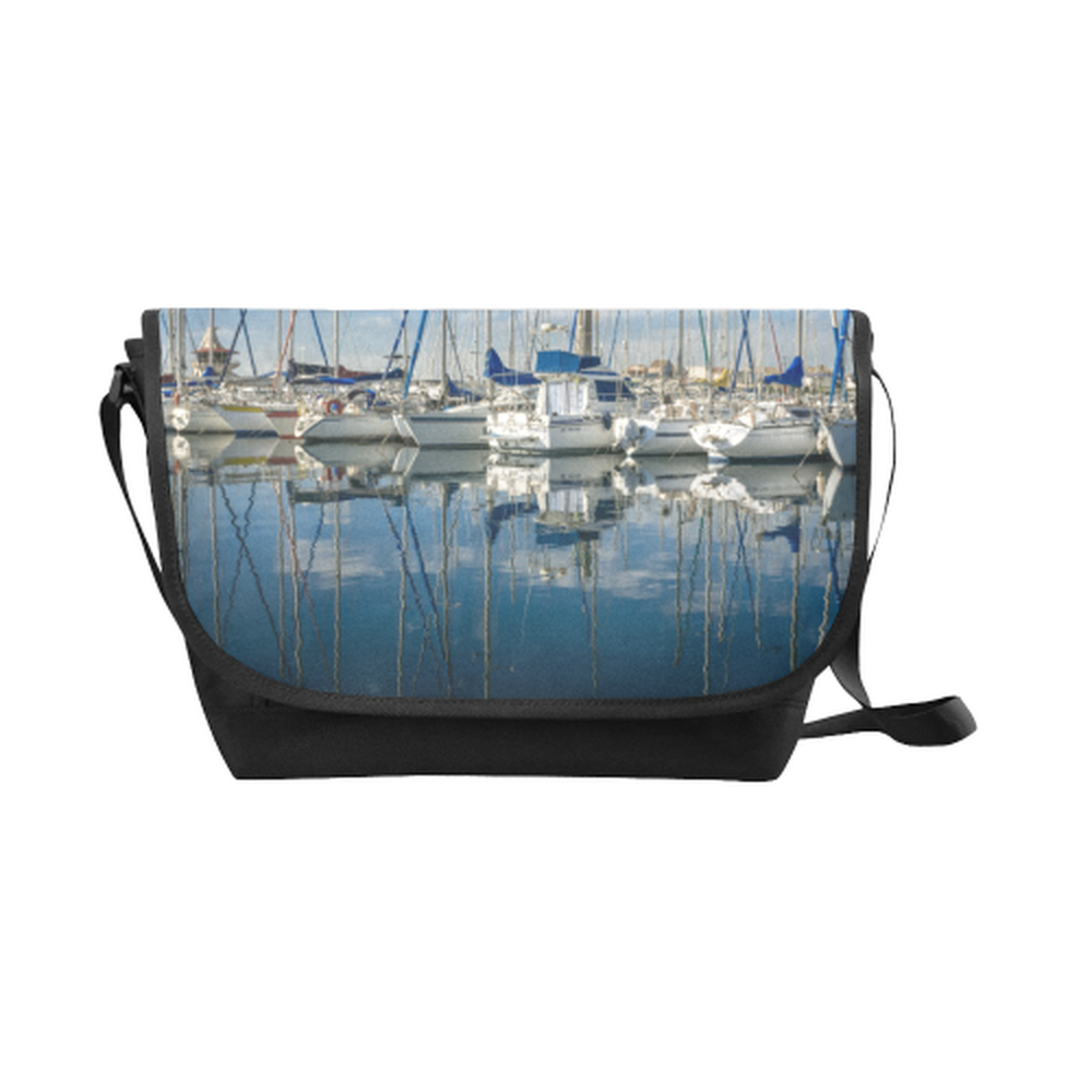Marina Saddle Purse