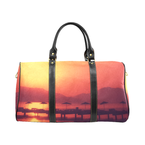 Sunset Vacation Large Waterproof Travel Bag