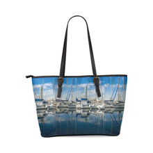 Marina Leather Tote Bag