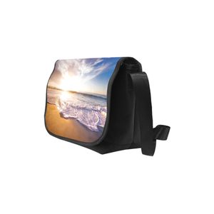 Beach Front Saddle Purse