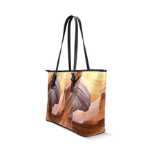 Canyon Leather Tote Bag