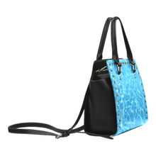 Pool Rivet Shoulder Purse