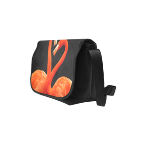 Flamingo Saddle Purse