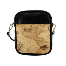 Old Map Sling Bag