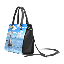 Sail Boat Rivet Shoulder Purse