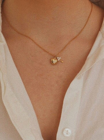 Collier coeur Betty