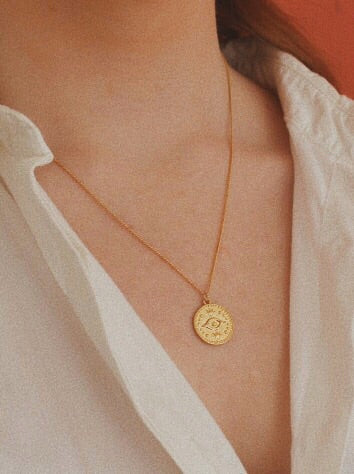 Collier oeil Kate