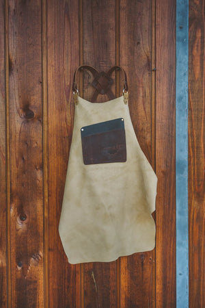 Bison Oil Finished Work Apron - Just Glorious