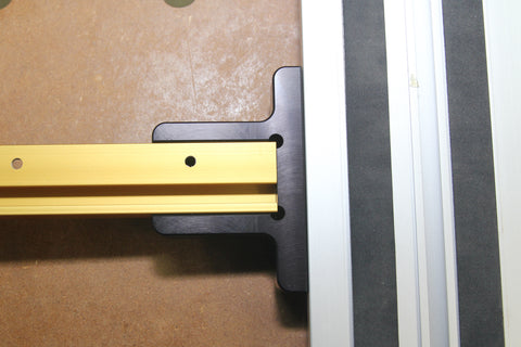 Image of Parallel Guide System for Festool and Makita Track Saw Guide Rail (With Incra T-Track)