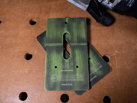 Image of Collector's Edition Zombie-Green Battleworn Domiplate™  - October 2019 Edition