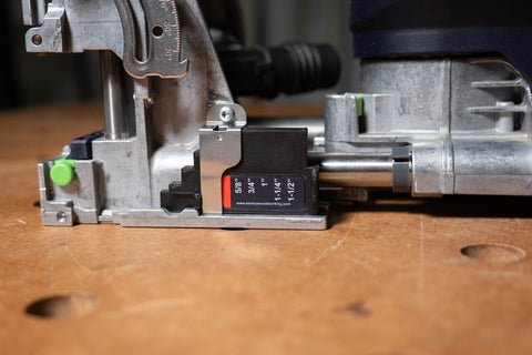 Image of Imperial Fence Height Gauge V2 for Festool Domino XL