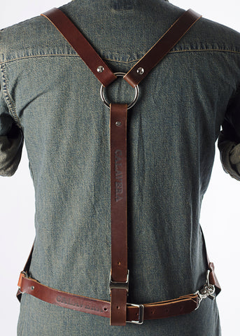 Image of Mahogany Work Apron - Seriously Sturdy
