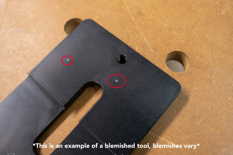 Blemish Metric Domiplate™ for 12mm and 18mm