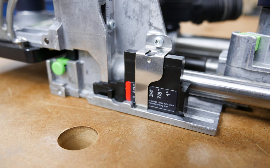 Imperial Thickness Gauge for Festool Domino XL DF 700
