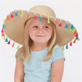 Childrens Tassel Sun Hat